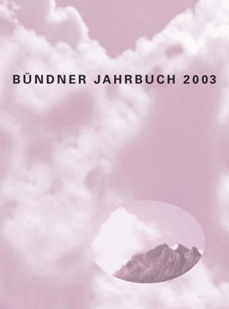 Bündner Jahrbuch 2003